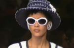 CHANEL mod 0011 00 on ss91 runway - sunglassespreservation © CHANEL