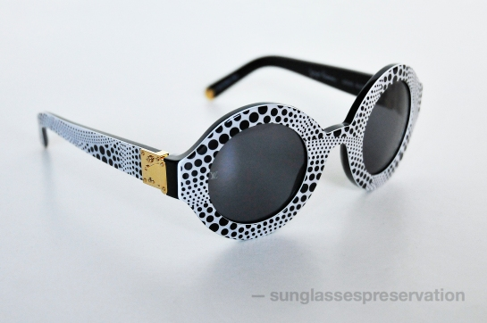 LOUIS VUITTON - Yayoi Kusama waves rond model Z0480W ss12 sunglassespreservation