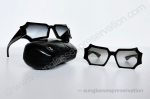 CHANEL mod 40792 S0164 and 40793 S2278 fw09 cruise ph. © sunglassespreservation