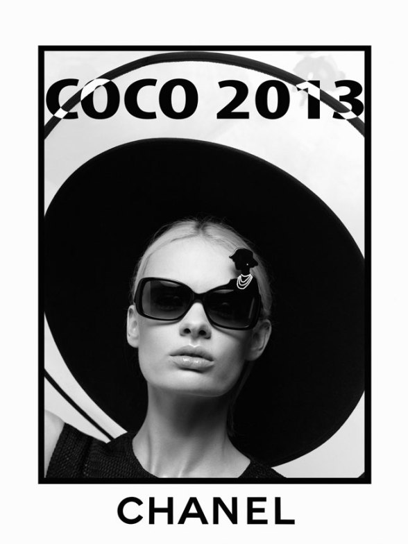 CHANEL mod 40987 A press image by Karl Lagerfeld ss13 © CHANEL