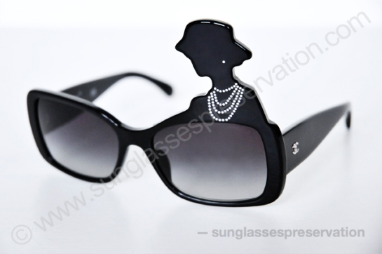 "CHANEL mod 40987 A ""coco silhouette"" S0133 ss13 © sunglassespreservation"