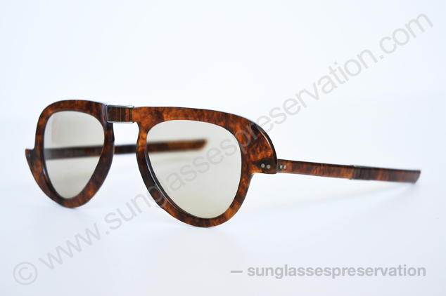 Pierre Cardin foldable model 60s © sunglassespreservation