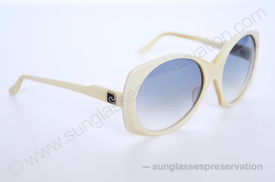 PIERRE CARDIN white frame mod 1 132 70s © sunglassespreservation
